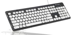羅技可洗式鍵盤K310 預防諾羅病毒找上身  鍵盤當然也要洗澎澎