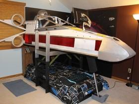 從小培養原力,星戰迷父親替兒子打造 X 戰機雙層床架,超酷的啦!