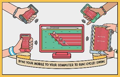 用 4台手機操控電腦裡的遊戲,Google 推出 Super Sync Sports 讓大家連線同樂