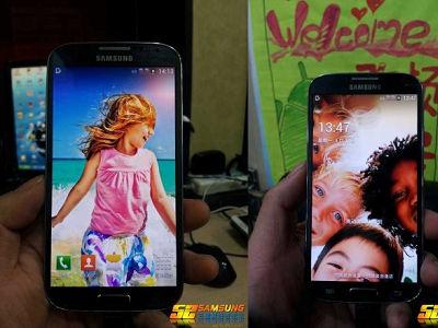 Samsung GALAXY S4 中國聯通客製版實機曝光,搭載 4.99 吋 FHD 螢幕