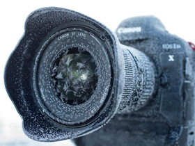 Canon 1D X 旗艦「雪花」機 -17°C 再登場,看看美麗的六角結晶