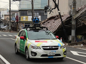 跟著 Google 街景車進入封鎖兩年的日本福島警戒區,令人不勝唏噓的鬼城景象