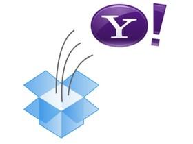 Yahoo! 宣布與 Dropbox 合作,由後者提供郵件附加檔案服務