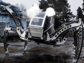 兩噸重、柴油渦輪動力的六足全地形機器人載具 MANTIS,帥啊!