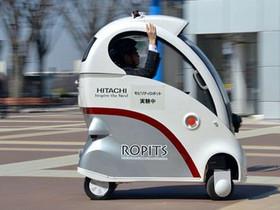 Hitachi 不只做家電,還會做無人駕駛電動車!