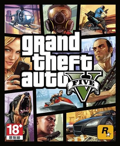 Rockstar Games公布《俠盜獵車手5》遊戲封面