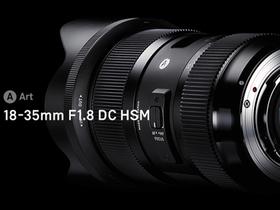 Sigma 18-35mm F1.8 DC HSM Art 發表,史上第一隻 F1.8 恆定光圈變焦鏡頭 | T客邦