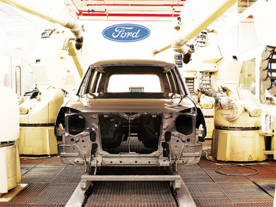 Ford綠色製程更進一步,全球3-Wet環保烤漆技術使用率提升50%!