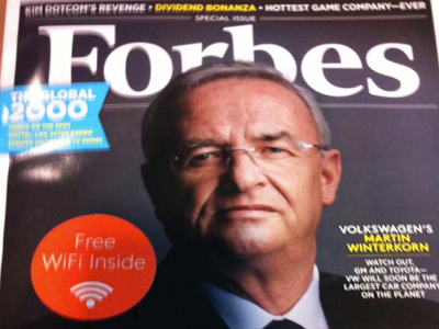 微軟與美國 Forbes 雜誌合作的神奇贈品:在紙本雜誌內建 Wi-Fi 熱點 | T客邦