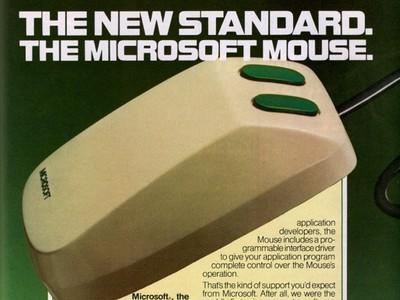 Microsoft 歡慶滑鼠推出 30 週年,快來瞧瞧當年號稱「綠眼怪物」的首隻滑鼠!