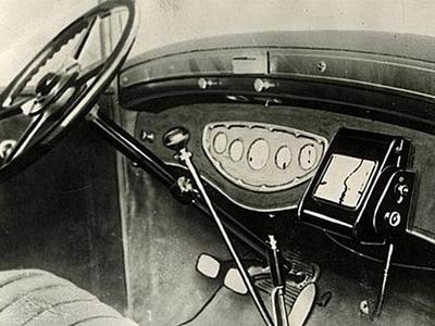 沒衛星居然也能導航,80年前的高科技車用導航系統
