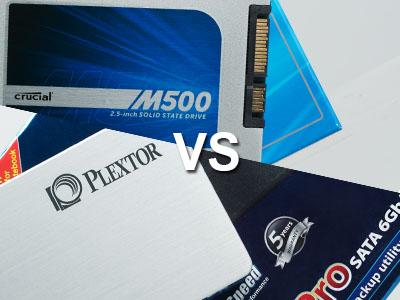 固態硬碟 15K 有找,Crucial 480GB 與 Plextor 512GB 大對決