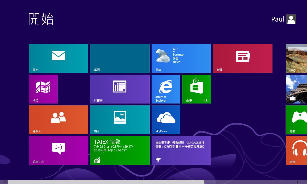 想要更多動態磚嗎? Windows 8 自訂開始畫面及動態磚的螢幕解析度