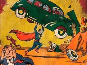 一本比房子還貴10倍的漫畫書,沈睡在牆壁中75年的超人漫畫創刊號