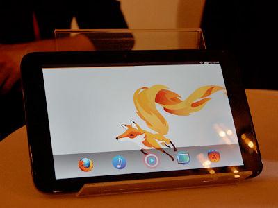Firefox OS 平板現身!鴻海宣布將與 Mozilla 合作開發 Firefox OS 生態環境