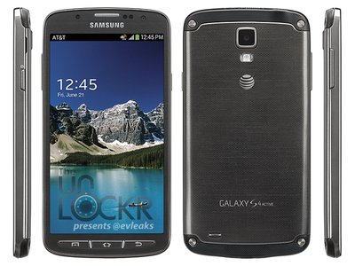 Samsung Galaxy S4 Active 正式公布,具備強悍 IP67 防水防塵功能