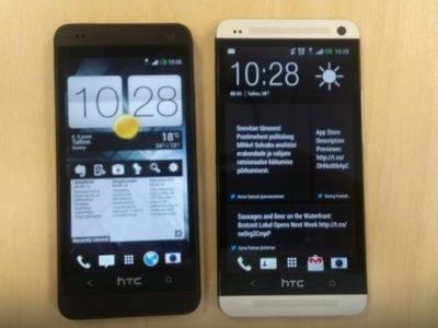 HTC M4 實機把玩照片流出,金屬機身、UltraPixel 鏡頭,硬是比 HTC One 小一號