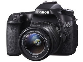 Canon EOS 70D 中階機發表,全新雙像素 CMOS 自動對焦系統、19點全十字對焦點