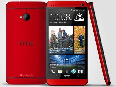 「HTC One 魅麗紅」新色登場,週五由遠傳電信首賣