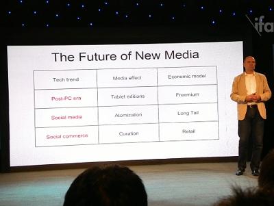 前《Wired》雜誌主編克里斯·安德森談3D 列印及新媒體時代