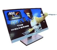 AOC酷樂暑假  金鋼狼伴遊一夏 獨家造型積木與體感遊戲機炫風登場 AOC螢幕大獎及金鋼狼超夯週邊等你拿