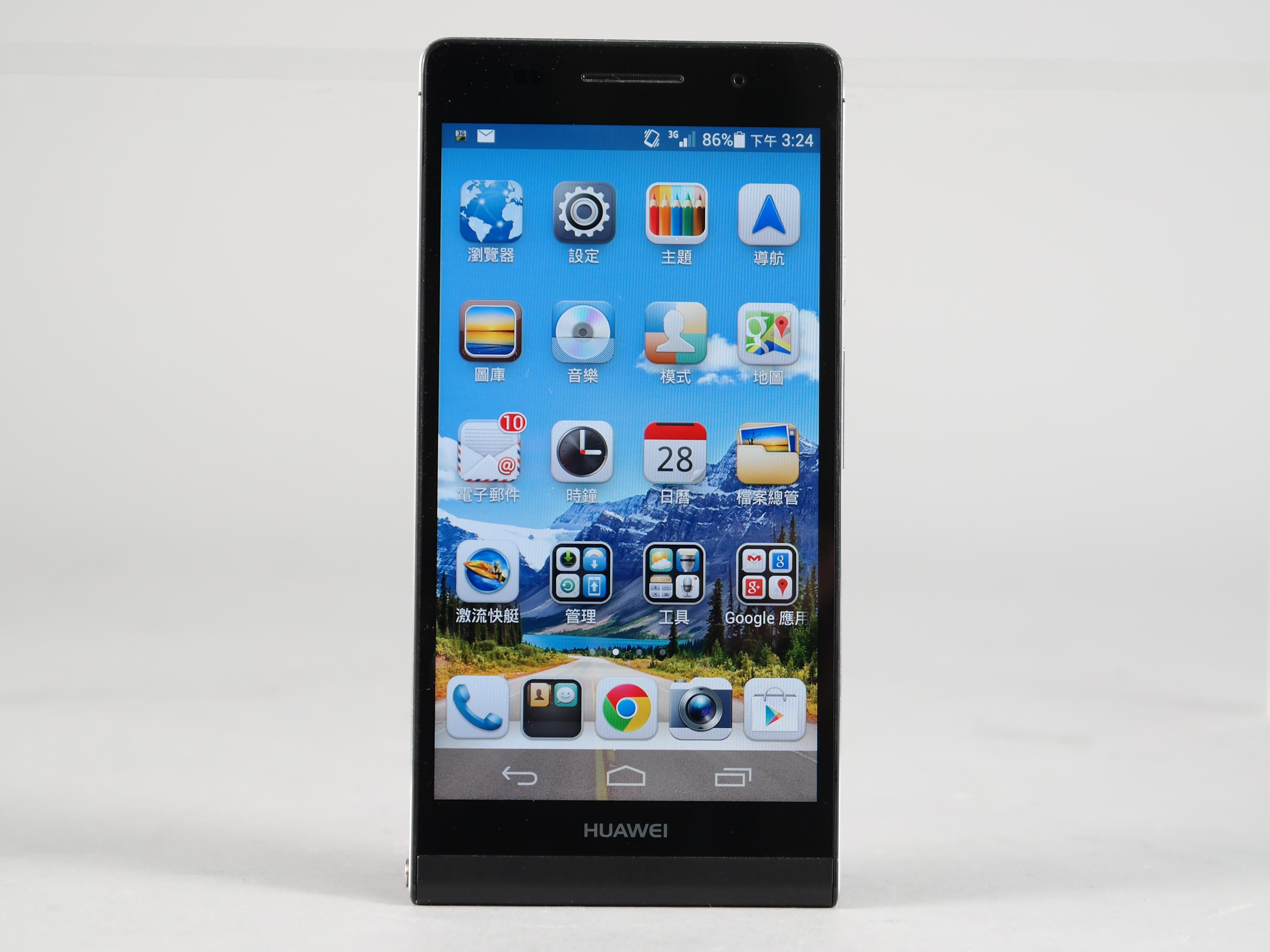超薄、金屬質感 Huawei Ascend P6 評測:6.18mm厚度、4.7吋 HD 解析度