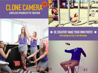無需修圖技巧,用 Clone Camera App 讓手機大玩分身、透明人照片