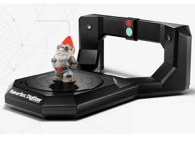 MakerBot Digitizer:放在家裡的 3D 掃描器