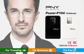 PNY Power-P104 商務首選行動電源  你的行動貼心小秘書 隨時待命上市