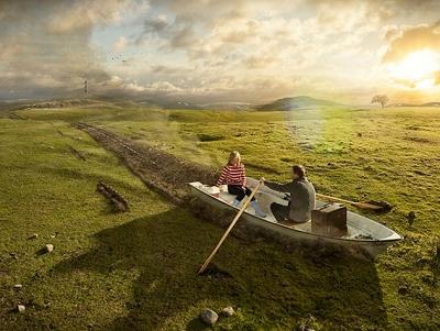 用現實拼湊幻想,攝影師 Erik Johansson 的 影像合成傑作