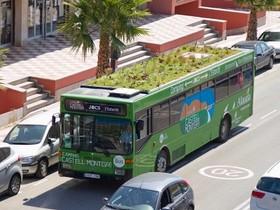 都市綠化新法寶──行駛在西班牙街頭的行動花園公車