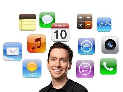 一張GIF 告訴你 iOS 6 和 iOS 7 的區別