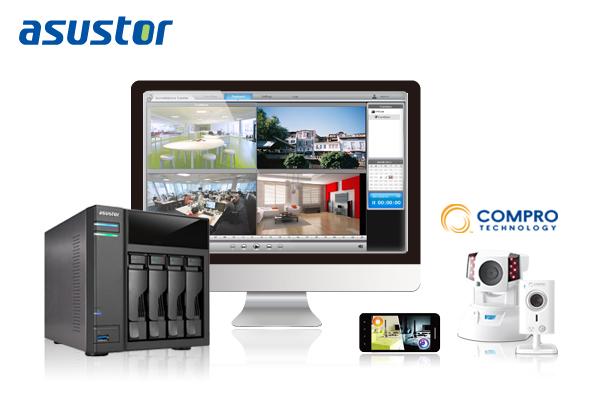 康博、華芸科技(ASUSTOR)攜手合作 創造完美雲端監控平台