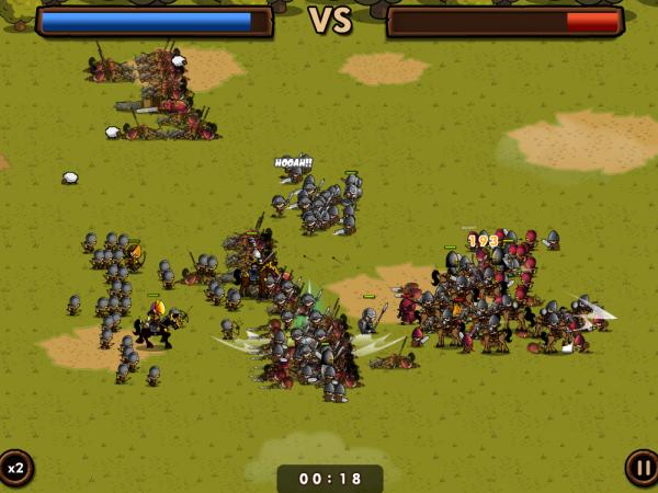《Mini Warriors》小小戰士出征!中古世紀策略養成一玩就上癮