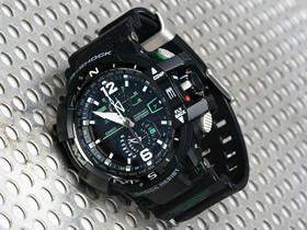CASIO G-SHOCK GW-A1100 :旗艦飛行錶系列,用電子羅盤遨遊天際