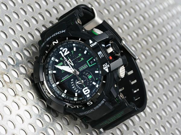 CASIO G-SHOCK GW-A1100 :旗艦飛行錶系列,用電子羅盤遨遊天際 | T客邦