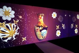 BenQ贊助故宮年度大展「乾隆潮-新媒體藝術展」 多元顯示科技產品重現乾隆朝繁華盛世