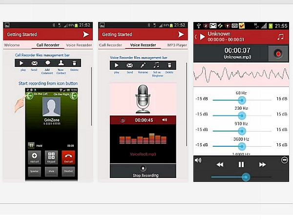 搜證錄音? MP3 InCall Recorder & Voice 通話時輕鬆免費錄下談話內容 | T客邦
