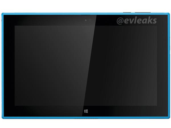 Nokia 2520 平板現身,將有黑色、紅色以及藍色