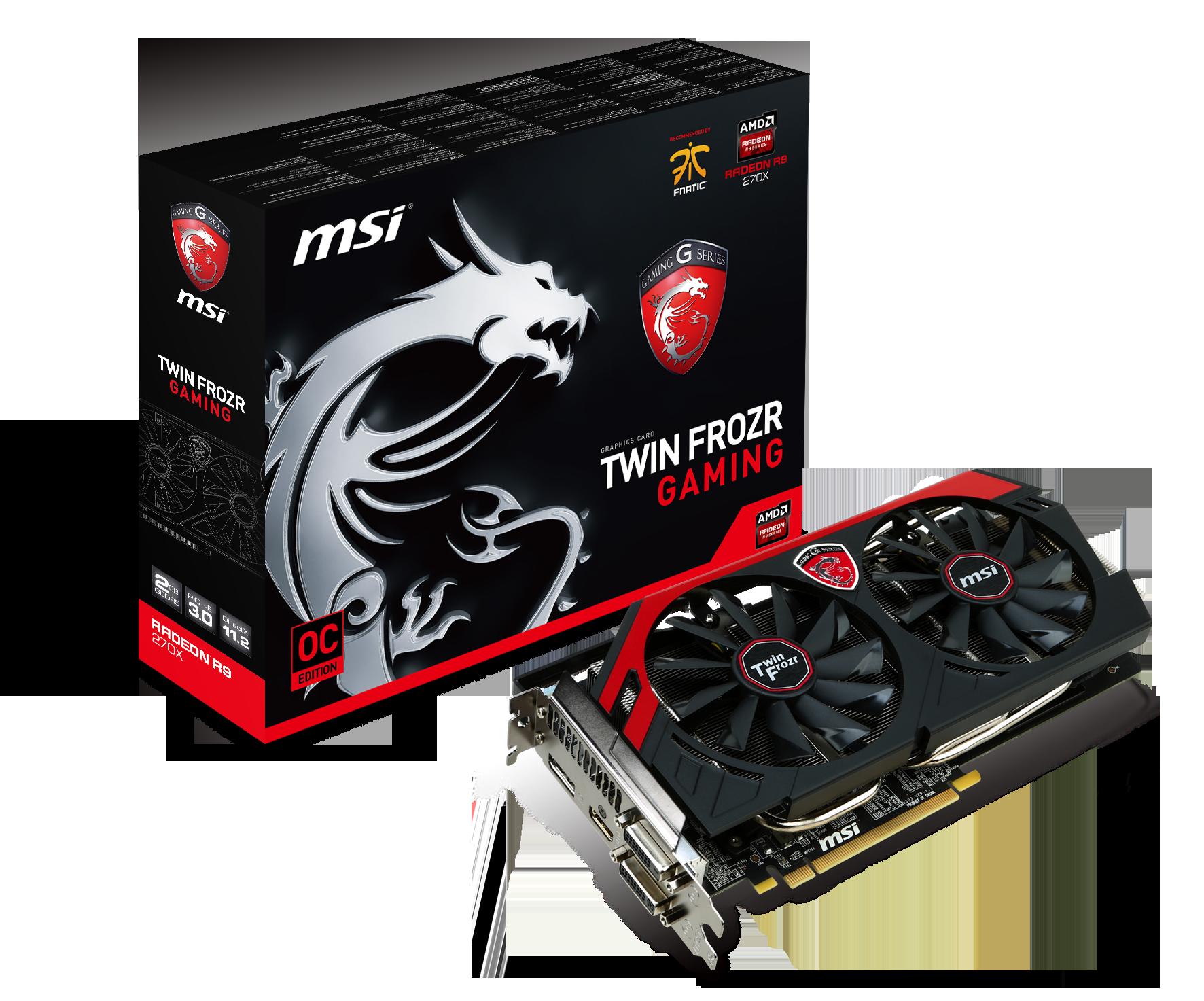 微星科技發表多款搭載AMD最新R9及R7遊戲與HAWK系列顯示卡