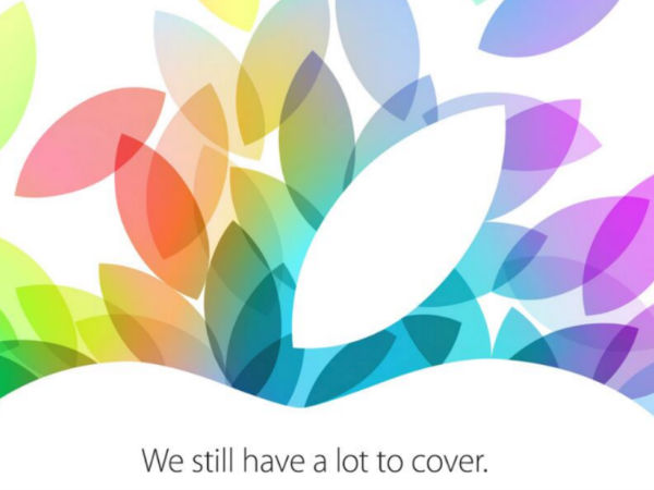 Apple 發表會 10 月 22 日確定!將要帶來 iPad 5、iPad mini 2!?