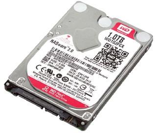 WD Red :2.5 吋 NAS 專用硬碟