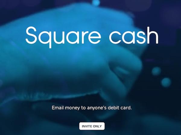 Square Cash :發封郵件,錢就轉到別人帳戶了