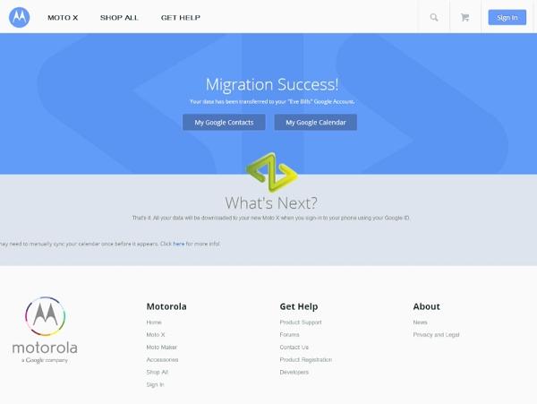 從Apple 搶客戶!Moto X 支援從iCloud 把聯絡人、行事曆轉換到 Google