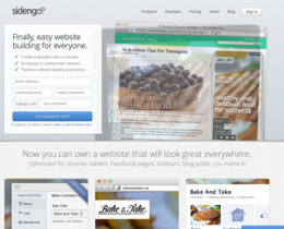 自助式建立結合臉書功能的官方網站