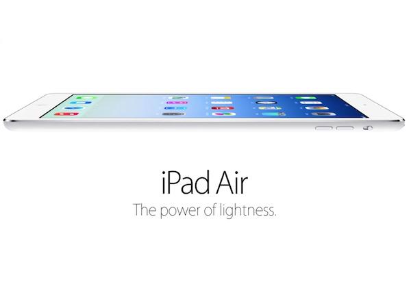 469 公克挑戰輕的極限,重量級 iPad Air 登場
