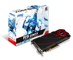 微星發佈R9 290X顯示卡 支援單卡六螢幕輸出及4K顯示效能 搭配Afterburner 超頻軟體,提升超頻潛力