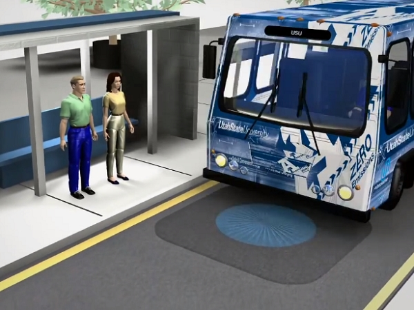 電力公車的新進展:用「閃充技術」充電