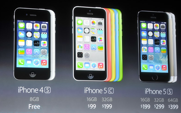 iPhone 5c 不是廉價版手機,Tim Cook:iPhone 4S 才是