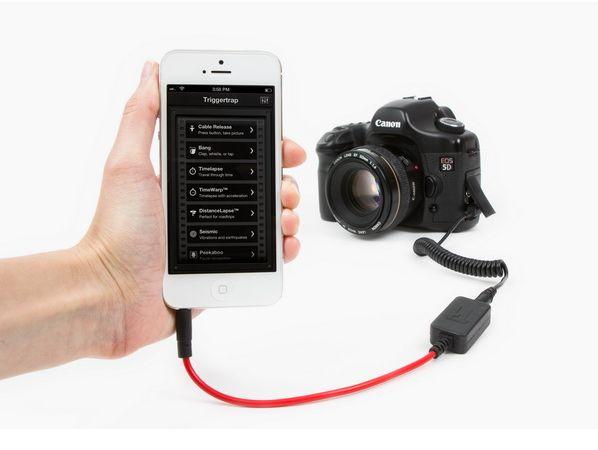 Triggertrap 多功快門感應器 ,打個噴嚏就自動幫你按下快門!